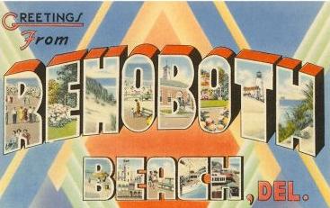 rehoboth postcard