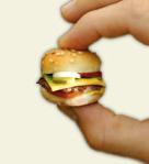 tiny burger