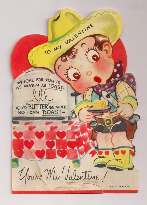 Toast Valentine