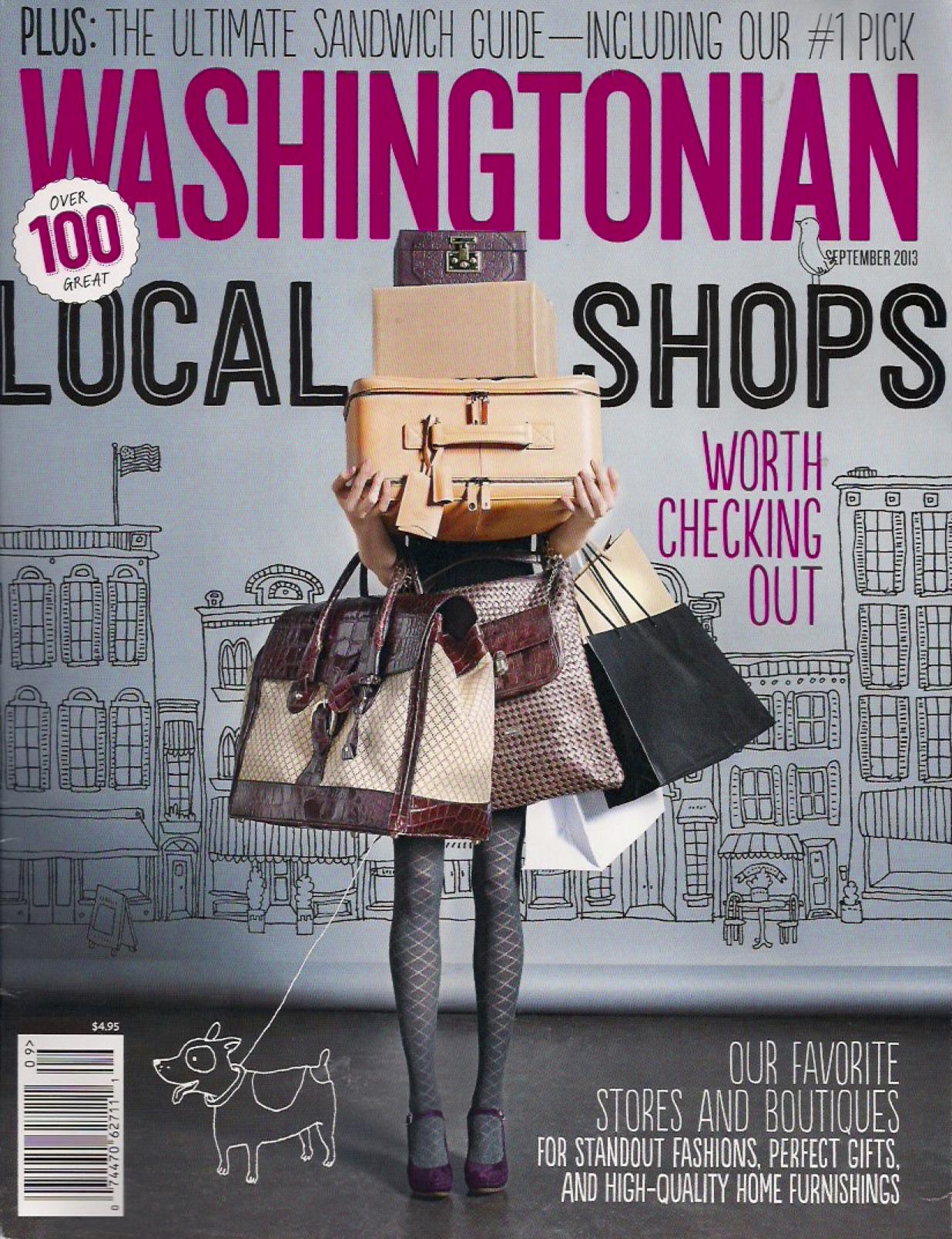 Washingtonian Sandwiches Page Cover 1