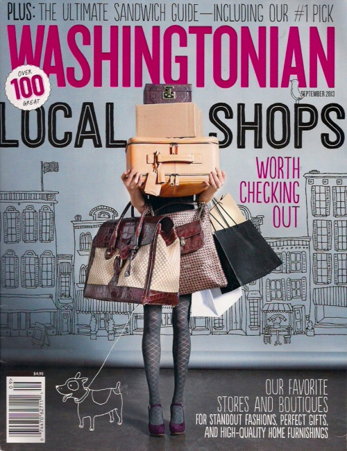 Washingtonian Sandwiches Page Cover 1