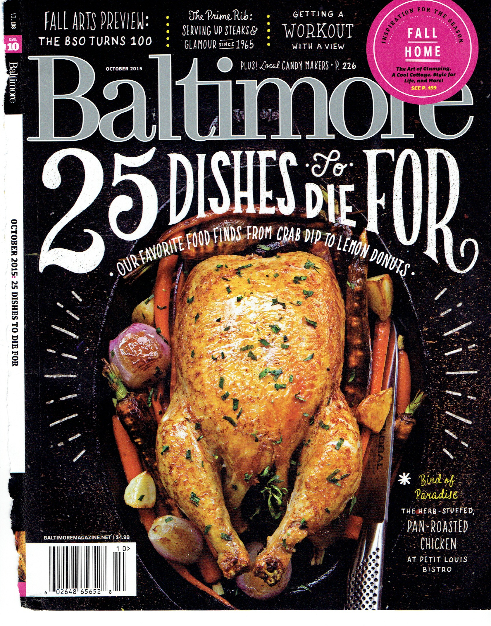 Baltimore Mag cover