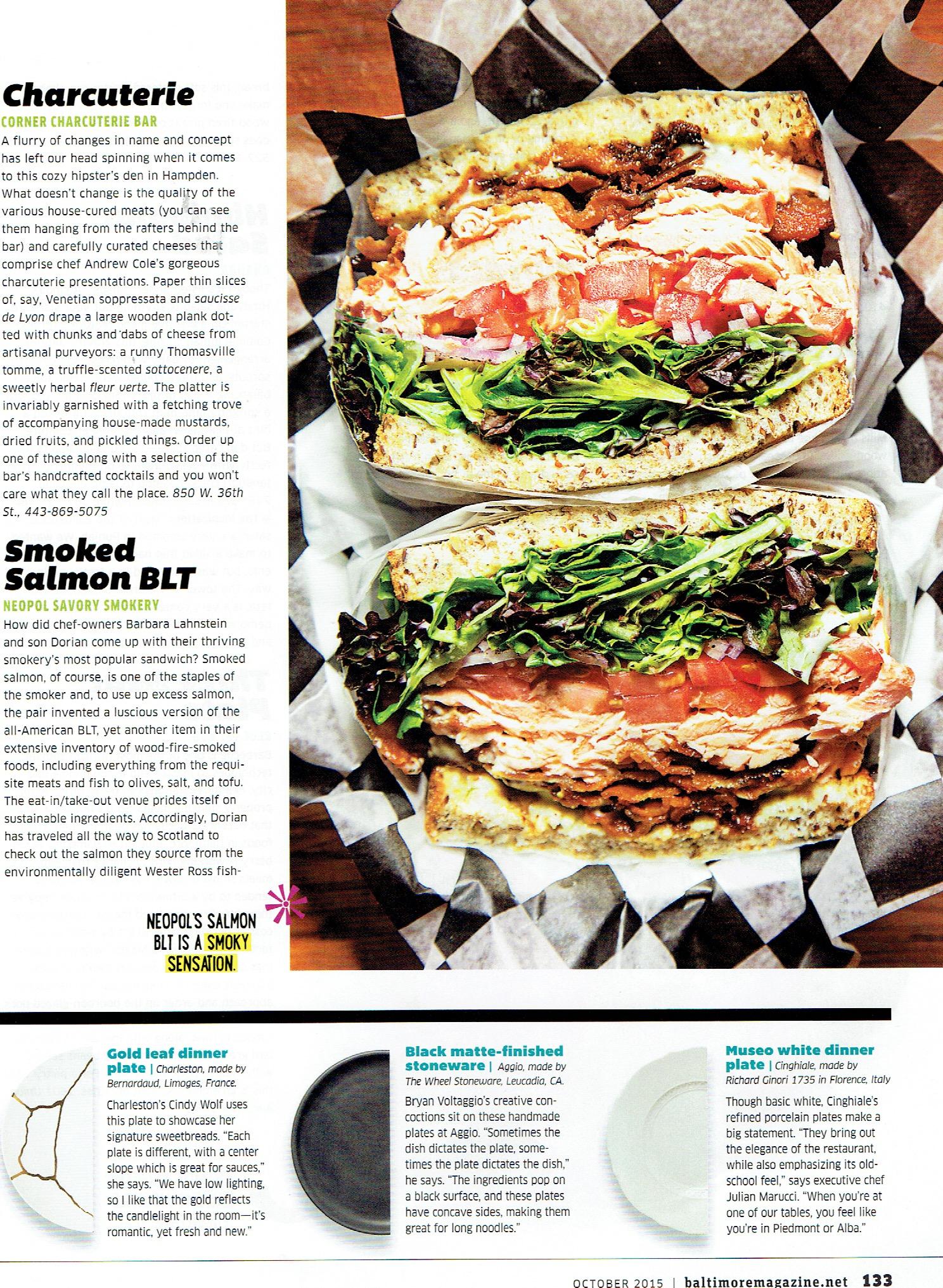 Baltimore Mag sandwich